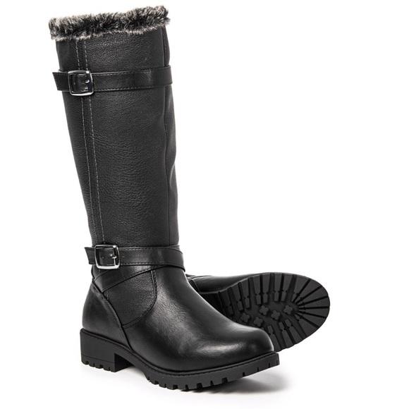9b43982e22e Waterproof tall snow boots - Santana Canada sz 9 M